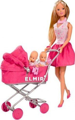 Кукла Steffi & Evi Love в платье с детьми в коляске (573 ...