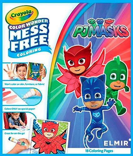 Раскраска Crayola Color Wonder PJ Masks (75-2411) купить ...