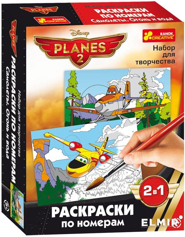 Раскраска по номерам Ranok Creative Дисней Самолетики ...